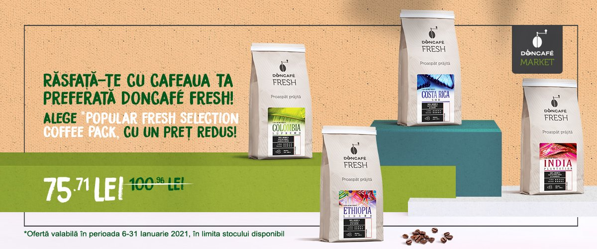 Popular Fresh Selection Coffee Pack